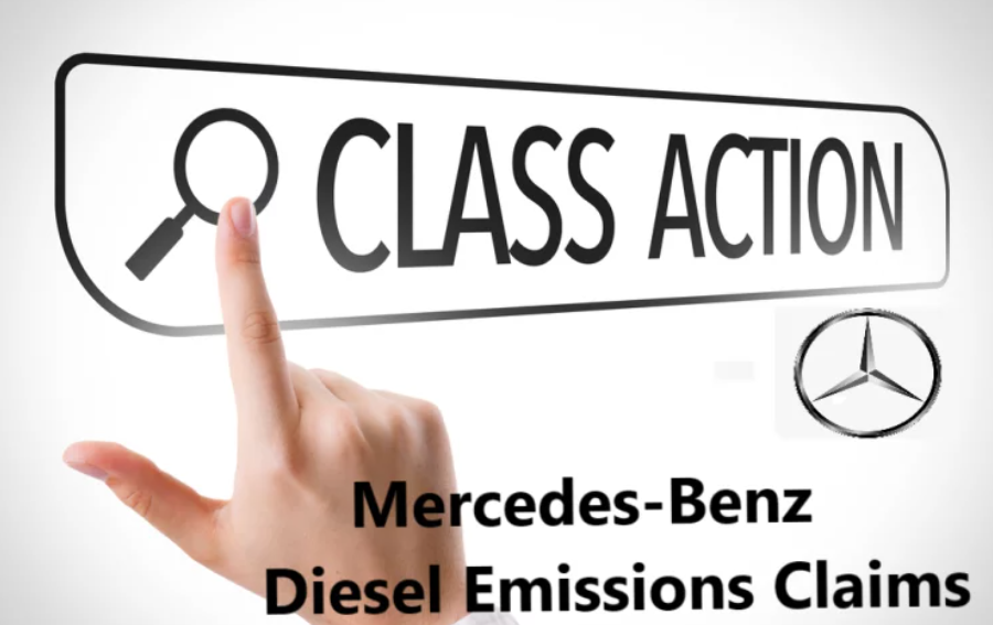 mercedes benz diesel compensation claims