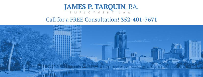 James P Tarquin Florida Labor & Employment Attorney